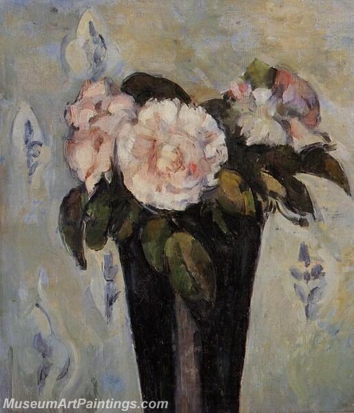 The Dark Blue Vase Painting