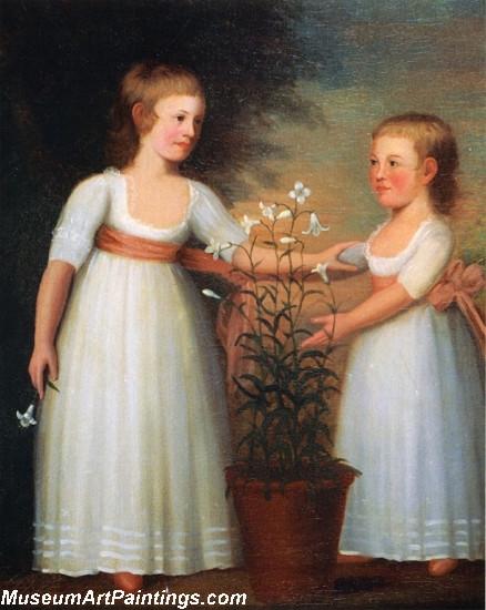 The Davis Children Eliza Cheever Davis and John Derby Davis
