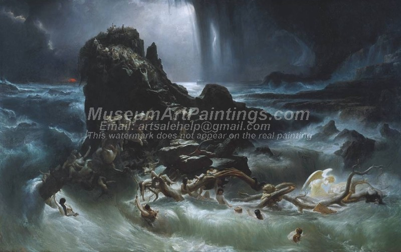 The Deluge Painting by Francis Danby