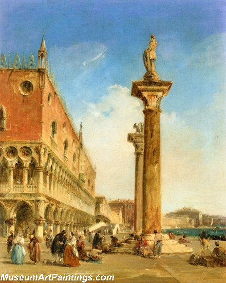 The Ducal Palace from the Piazzetta Painting