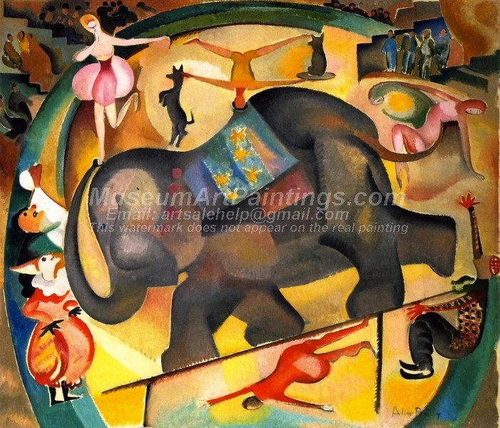 The Elephant by Alice Bailly