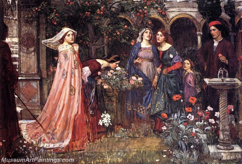 The Enchanted Garden Painting