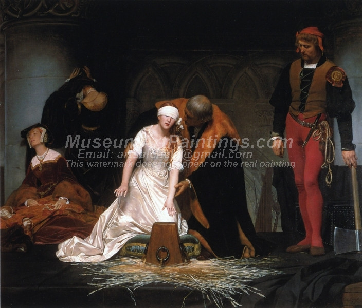 The Execution of Lady Jane Gray by Paul Delaroche