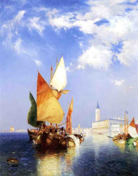 The Grand Canal Venice by Thomas Moran