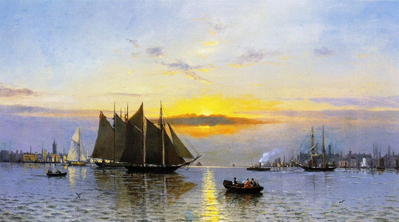 The Harbor of New York by Henry Holmes