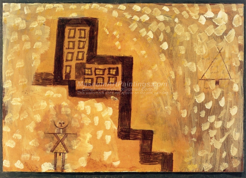 The House on High by Paul Klee