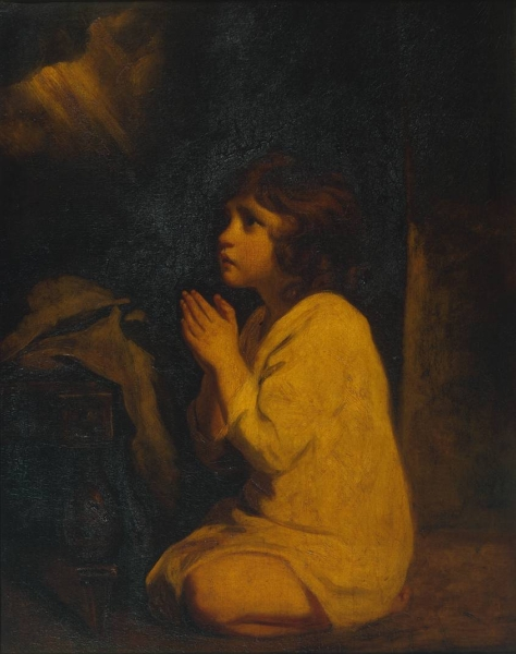 The Infant Samuel by Sir Joshua Reynolds