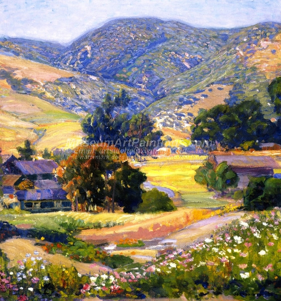 The Jeweled Hills by Joseph Kleitsch