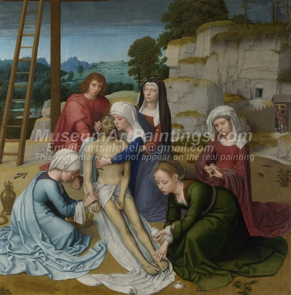 The Lamentation of Christ by Gheeraert David