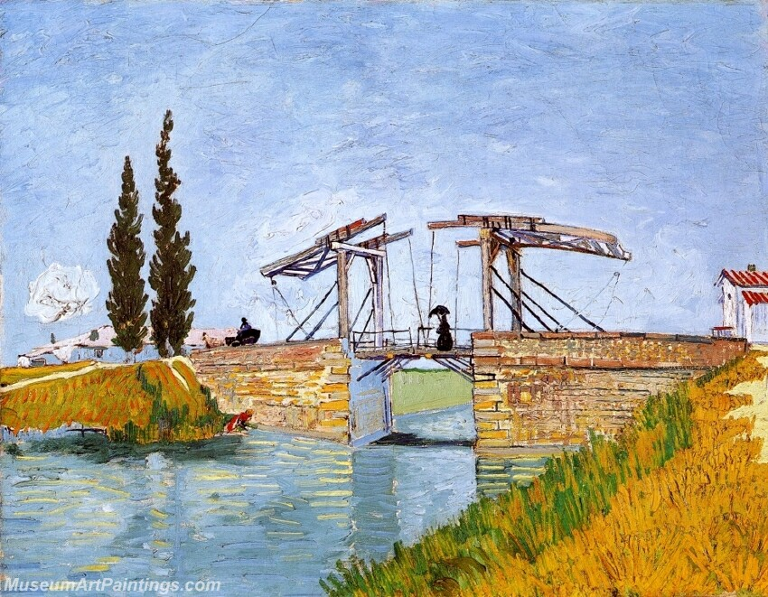 The Langlois Bridge Painting