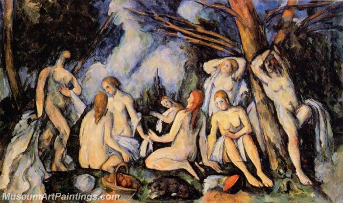 The Large Bathers Painting