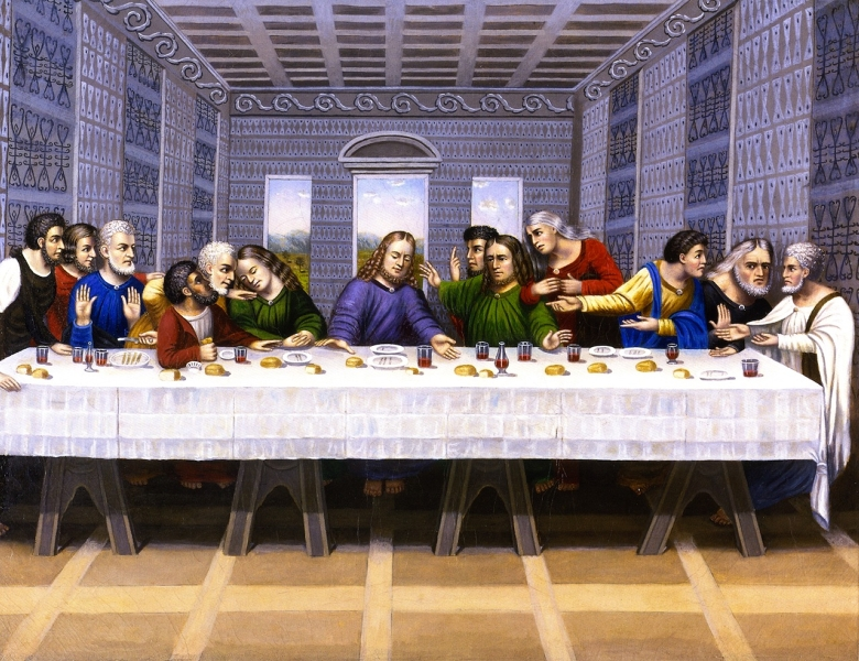The Last Supper by Erastus Salisbury Field