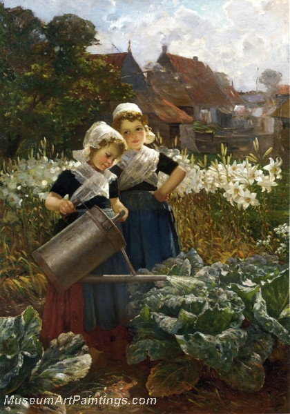 The Little Gardeners by Edmond Louyot