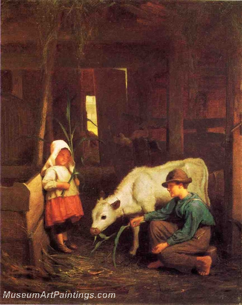 The Little White Heifer by George Cochran Lambdin