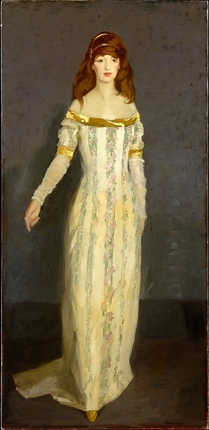 The Masquerade Dress by Robert Henri