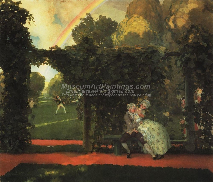 The Mocked Kiss by Konstantin Somov