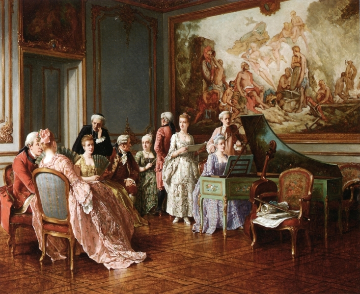 The Music Concert by Benjamin Eugene Fichel