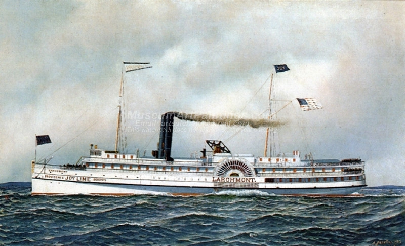 The Paddle Steamer Larchmont
