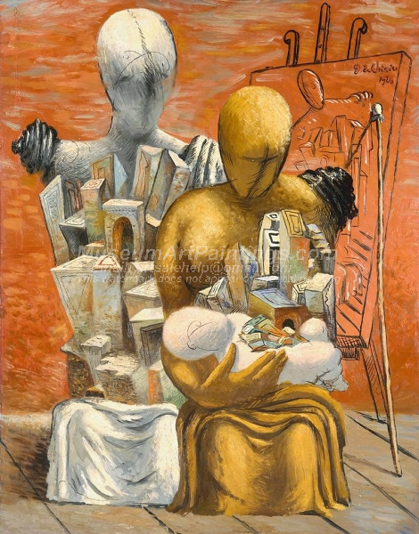 The Painters Family by Giorgio de Chirico