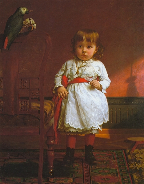 The Parrot Caught the Birdie by Seymour Joseph Guy