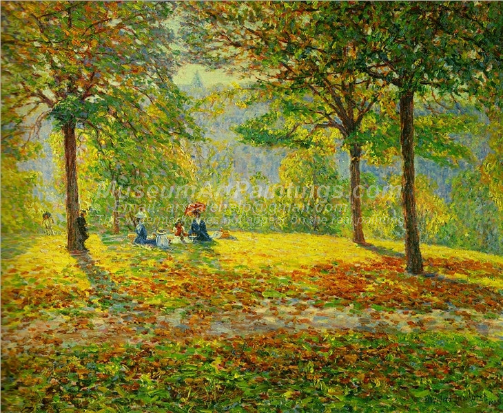The Picnic by Wynford Dewhurst
