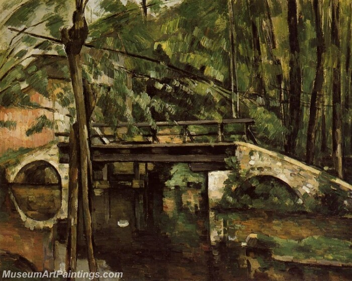 The Pont de Maincy Painting