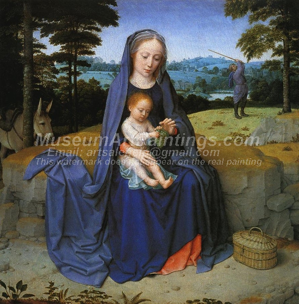 The Rest on the Flight into Egypt by Gheeraert David
