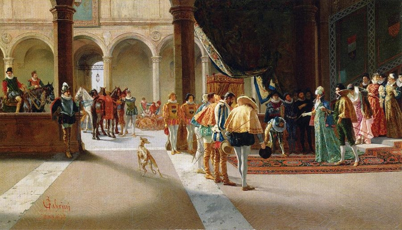 The Royal Visit by Pietro Gabrini