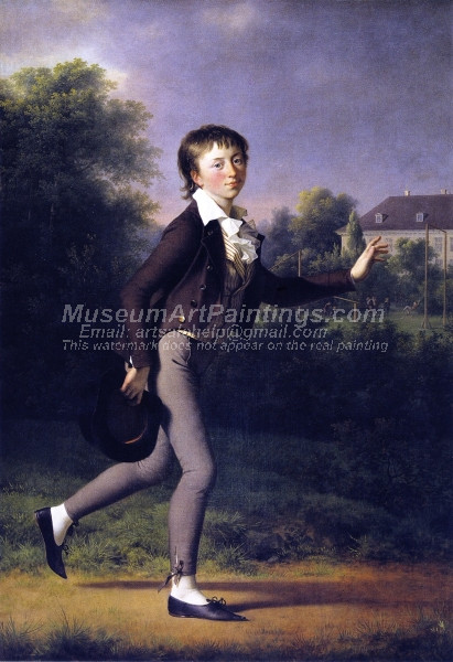 The Running Boy Marcus Holst von Schmidten