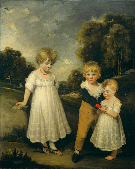 The Sackville Children by John Hoppner