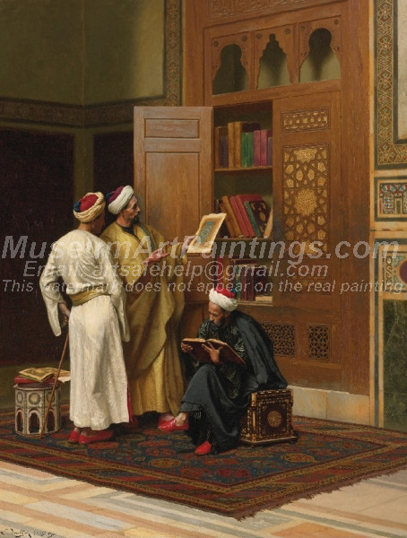 The Scholars by Ludwig Deutsch