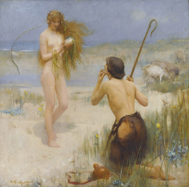 The Sea Maiden by Arthur Hacker