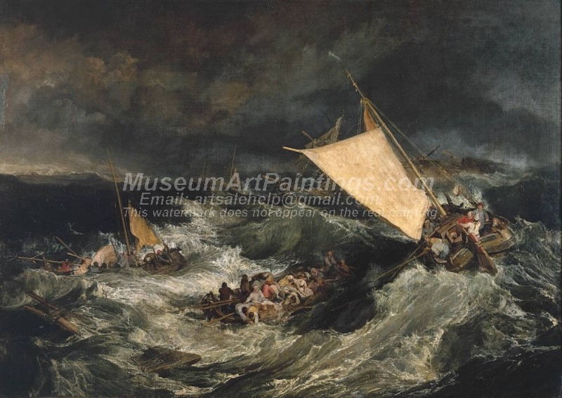 The Shipwreck Painting by Joseph Mallord William Turner