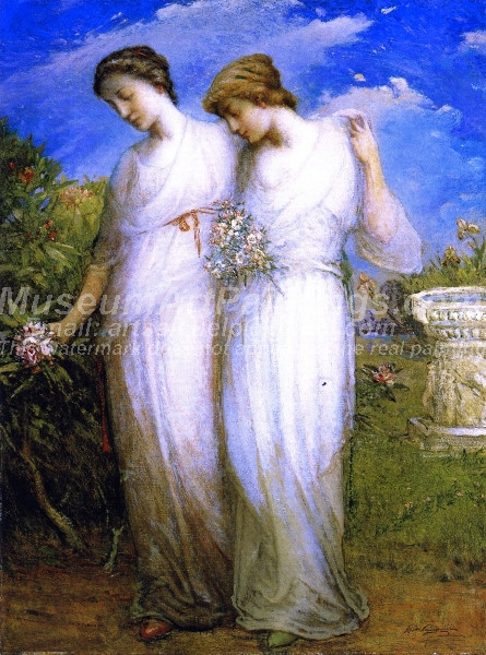 The Sisters by Elliott Daingerfield
