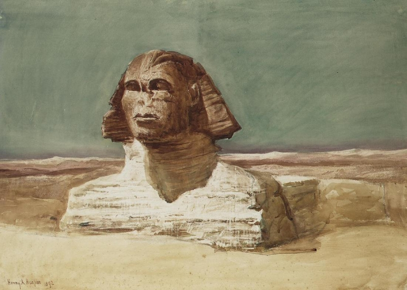 The Sphinx at Giza by Henry Andrew Harper