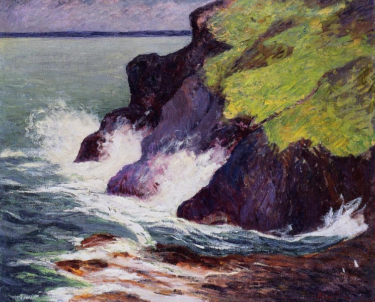 The Three Cliffs by Maxime Maufra