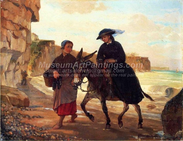 The Tourist and the Fisherwoman by Henry Bacon