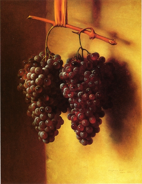 The Twins Chianti Grapes by George Henry Hall
