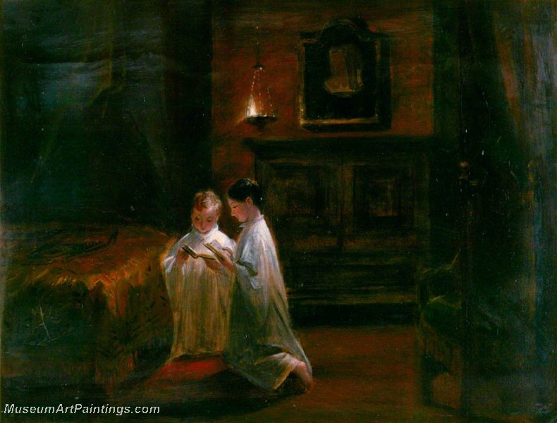The Two Princes in the Tower by Charles Robert Leslie