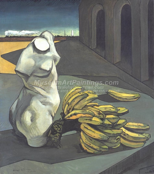 The Uncertainty of the Poet by Giorgio de Chirico