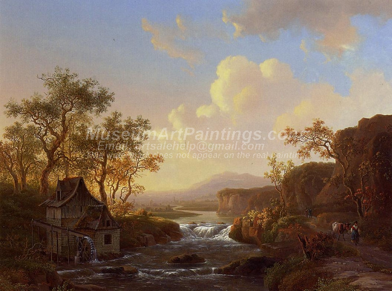 The Watermill by Welem de Klerk