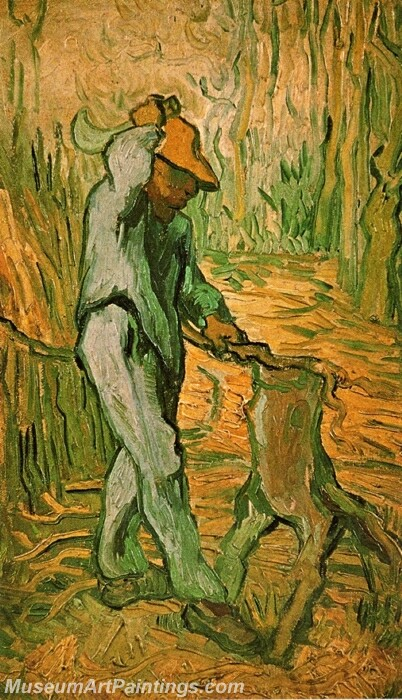 The Woodcutter Painting