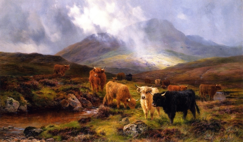 Through the Glen by Louis Bosworth Hurt