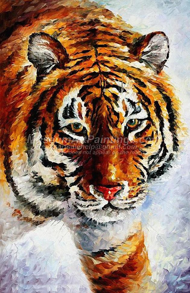 Tiger Oil Paintings 001