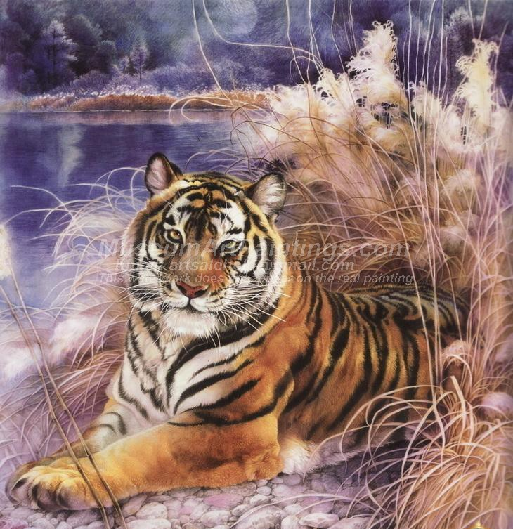 Tiger Oil Paintings 003