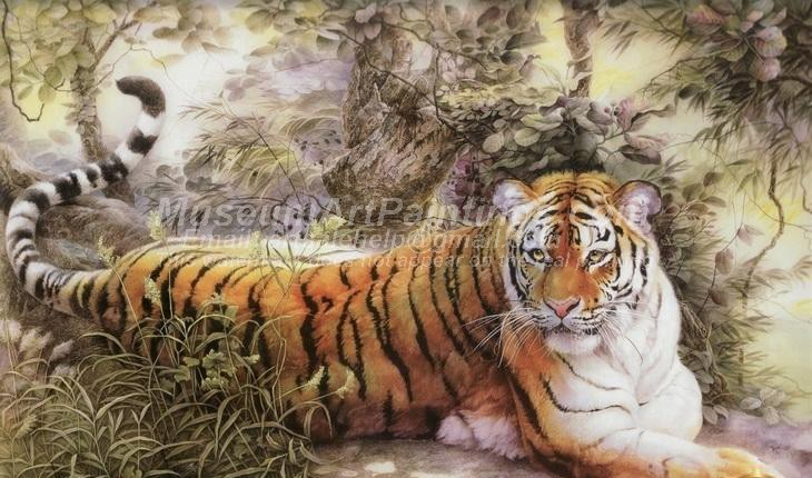 Tiger Oil Paintings 004