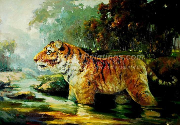 Tiger Oil Paintings 009
