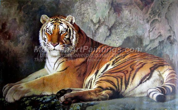Tiger Oil Paintings 011