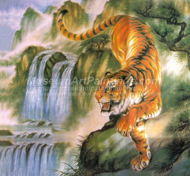 Tiger Oil Paintings 019