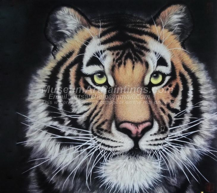 Tiger Oil Paintings 020